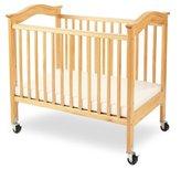 L.A. Baby Berkshire Convertible Crib with Mattress