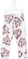 MonnaLisa female lion cub print leggings - kids - Cotton/Sinflex - 2 yrs