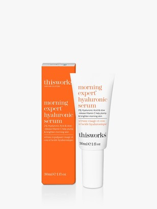 thisworks® This Works Morning Expert Hyaluronic Serum, 30ml