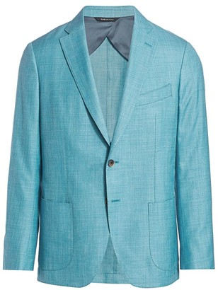 Saks Fifth Avenue COLLECTION Solid Twill Sport Jacket