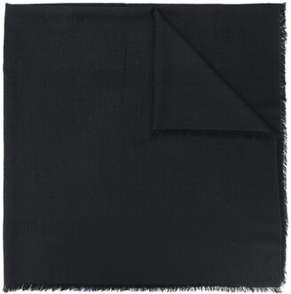 Zadig & Voltaire Frayed-Edge Scarf