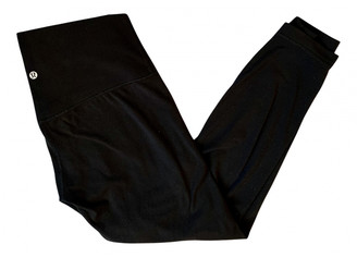 Lululemon Black Spandex Trousers