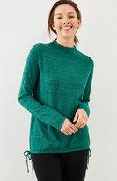 J. Jill Pure Jill Ultrasoft Side-Tie Sweater