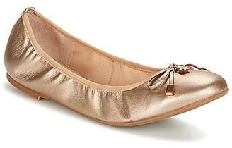 JB Martin OREANE women's Shoes (Pumps / Ballerinas) in Gold