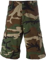 Carhartt camouflage print cargo shorts