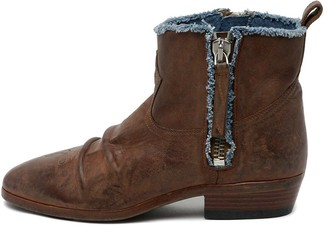 Golden Goose Viand Boot in Brown/Blue