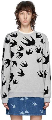 McQ Grey Swallows Sweatshirt