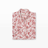 Club Monaco Slim Short-Sleeve Linen Shirt