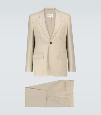 Maison Margiela Single-breasted wool suit
