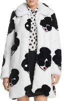 Alice + Olivia Kinsley Stace Face Faux-Fur Coat