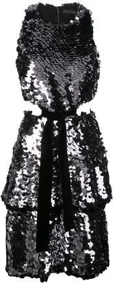 Proenza Schouler sequinned short dress