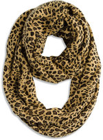 Chico's Cheetah Play Infinity Scarf