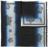 Kenzo multi tiger scarf - women - Modal/Cotton - One Size