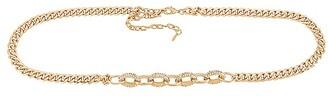 Ettika Crystal Stud Chain Belt