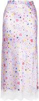 G.V.G.V. lace trim skirt - women - Rayon - 36
