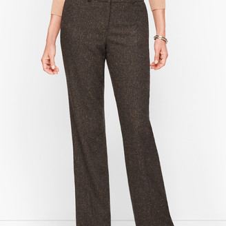 Talbots Luxe Donegal Windsor Pants - Curvy Fit