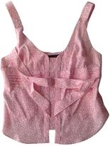 Balenciaga Pink Silk Top