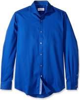 Robert Graham Men's Classic Fit Satin Check Dress Shirt