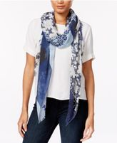 Vince Camuto Printed Scarf & Wrap in one