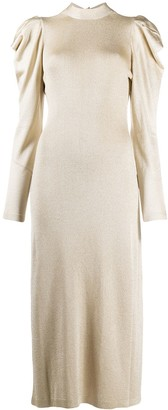 Temperley London Kenny glitter-knit dress