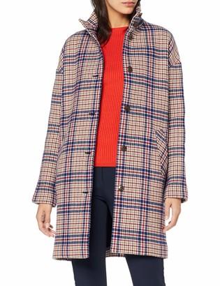Gant Women's D1. Checked Cocoon Coat
