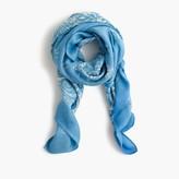 J.Crew Paisley scarf