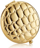 Estee Lauder Golden Alligator Slim Compact Refillable Pressed Powder