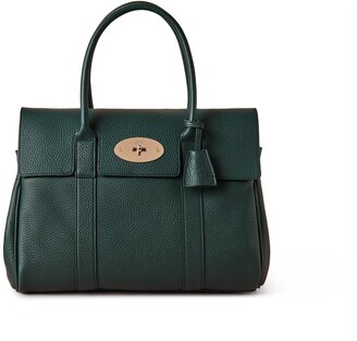 Mulberry Bayswater Green Heavy Grain