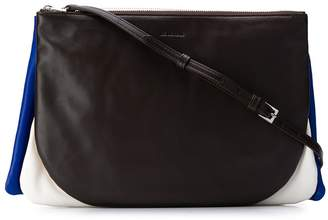 Jil Sander three compartment crossbody bag