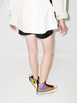 Converse Black Multicoloured Chuck 70 Iridescent High Top Sneakers