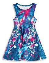 Zara Terez Girl's Speckled Sleeveless Dress