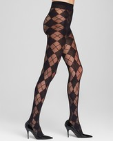 Pretty Polly Alice + Olivia by Argyle Tights