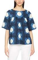 Orla Kiely Women's Crisp Cotton Top Blouse