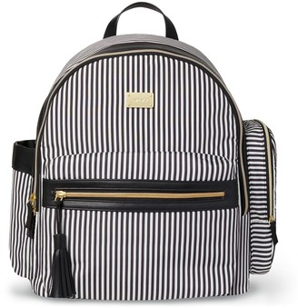 Carter's Striped Handle It All Backpack Diaper Bag