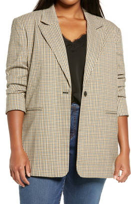 Treasure & Bond Plaid Blazer