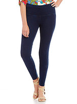 Multiples Wide Waistband Pull-On French Terry Leggings