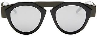 Smoke X Mirrors x FIORUCCI Atomic3 Round Sunglasses