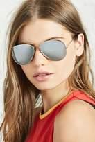 Forever 21 Mirrored Aviator Sunglasses