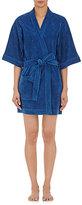 Eres Women's Short-Sleeve Cotton Terry Robe