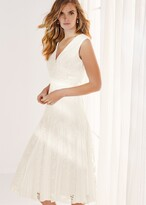 Thumbnail for your product : Phase Eight Caterina Embroidered Flared Wedding Dress