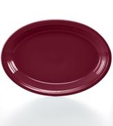 "Fiesta Claret 13"" Oval Platter"