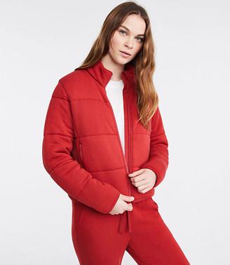 LOFT Lou & Grey Signaturesoft Plush Puffer Jacket