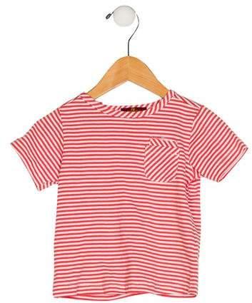 7 For All Mankind Seven Girls' Stripe Short Sleeve Top