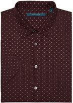 Perry Ellis Short Sleeve Micro Motif Shirt