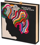 Olympia Le-Tan Squared Milton Glaser Embroidered Clutch