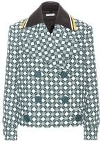 Miu Miu Printed Wool Jacket