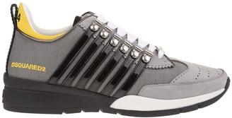 DSQUARED2 Grey-black-yellow 251 Man Sneakers