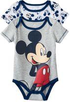 Disney Disney's Mickey Mouse Baby 2-pk. Bodysuits