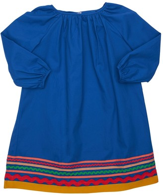 Tia Cibani Embellished Cotton Dress