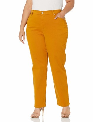 Gloria Vanderbilt Women's Size Amanda Classic High Rise Tapered Jean